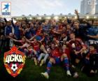 CSKA Moskwa, Champion Liga Premier 2013-2014, rosyjski football league