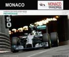 Lewis Hamilton - Mercedes - Grand Prix Monako 2014, 2 sklasyfikowane