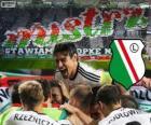 Legia Warszawa, mistrz polski w piłce nożnej Ekstraklasa 2013-2014