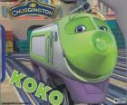 Koko, elektryczna lokomotywa z Chuggington