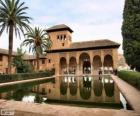 Pałacu Alhambra, Granada, Hiszpania