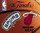 2014 NBA Finals. San Antonio Spurs vs Miami Heat