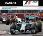 Nico Rosberg - Mercedes - Grand Prix Kanady 2014, 2 ° sklasyfikowane