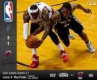 2014 NBA Finals, mecz 4, San Antonio Spurs 107 - Miami Heat 86