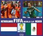 Holandia - Meksyk, mecze ósmej, Brazylia 2014