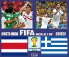 Costa Rica - Grecja, mecze ósmej, Brazylia 2014