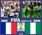 Francja - Nigeria, mecze ósmej, Brazylia 2014