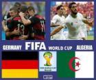 Niemcy - Algieria, mecze ósmej, Brazylia 2014