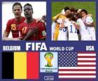 Belgia - Stany Zjednoczone, mecze ósmej, Brazylia 2014