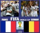 Francja - Niemcy, ćwierćfinały, Brazylia 2014