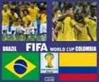 Brazylia - Kolumbia, ćwierćfinały, Brazylia 2014