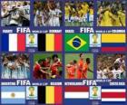Ćwierćfinały, Brazylia 2014