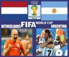 Holandia - Argentyna, półfinał, Brazylia 2014