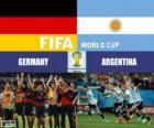 Argentyna vs Niemcy. Finał FIFA Mistrzostwa Świata w Piłce Nożnej Brazylia 2014