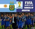 Argentyna 2 sklasyfikowane z Brazylia 2014 roku Puchar Świata