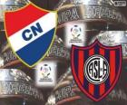 Klubu Nacional Paragwaj vs San Lorenzo de Almagro Argentyna. Finał Copa Libertadores 2014