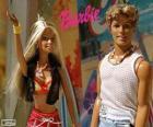 Barbie i Ken w lecie