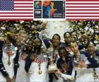 Stany Zjednoczone Ameryki, mistrz Mistrzostwa Świata w Koszykówce Mężczyzn 2014