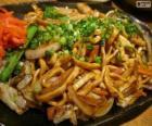 Yakisoba, japoński żywności
