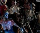 Halloween szkielety