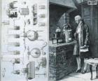 Antoine Lavoisier (1743-1794), francuski chemik, uważany za twórcę nowoczesnej chemii