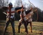Łuczników, średniowieczne żołnierzy uzbrojonych w łuk