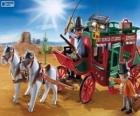 Dyliżans Playmobil