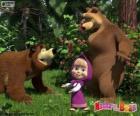 Masza z dwa niedźwiedzie