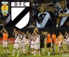 Danubio FC, mistrz pierwszej ligi piłki nożnej w Urugwaju w roku 2013-2014