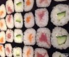 Makis, wariant sushi