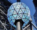 Piłka w nowy rok, Times Square, Manhattan, New York