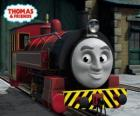 Victor jest menadżerem The Sodor Steamworks