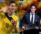 Nagrodę Puskás FIFA 2014 dla James Rodríguez