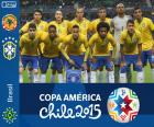 Brazylii Copa America 2015