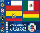 Grupa A, Copa America 2015