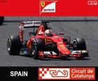 Vettel G.P Hiszpania 2015