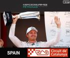 Rosberg G.P Hiszpania 2015