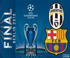 Juventus FC vs FC Barcelona. Końcowy Liga Mistrzów 2014-2015. Stadionie Olimpijskim, Berlinie, Niemcy