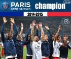 PSG, mistrz 2014-2015