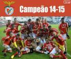 Benfica, mistrz 2014-2015