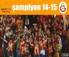 Galatasaray, mistrz 14-15