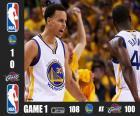 2015 NBA Finals, 1 mecz