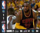 2015 NBA Finals, 2 mecz
