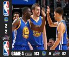 2015 NBA Finals,  4 mecz