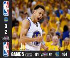 2015 NBA Finals, 5 mecz