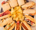 Zróżnicowane kanapki
