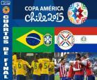 BRA - PAR, Copa America 2015