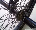 BMX tylne koło