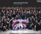Lewis Hamilton, mistrza F1 2015