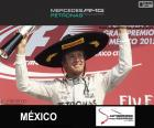 Rosberg Grand Prix Meksyku 2015